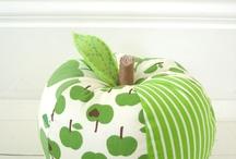 zöldség, gyümölcs textilből, filcből