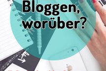 Blog schreiben (Ideen)