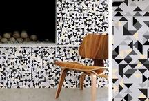 Home sweet home / Décoration d'inspiration scandinave, qui mêle tons neutres et touches de couleur, matières nobles et motifs géométriques.