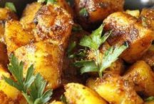 Indian Potato Recipes / Indian potato recipes to inspire you in the kitchen. Follow this board for some great Indian potato recipe ideas!