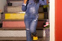 Jeans nunca sai de moda / Meninas e meninos vestindo e se divertindo com todo conforto e estilo do jeans! Não é a toa que nunca sai de moda.