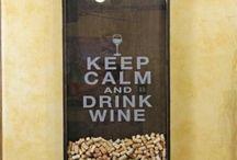 Tableau bouchons vins