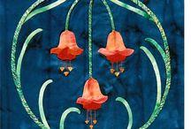 ART NOUVEAU-ART DECO- Quilts-Inspiration