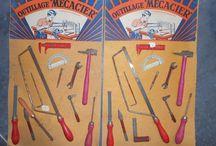 Menuiserie / Ebenisterie -  Carpenter / Cabinet Maker.