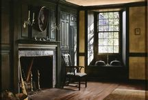 Historic Homes and Interiors / Historic design interiors and decor for old house and home lovers. Inspired by early American, European decor, molding, paneling, ornamentation, county estate, antiques, castles. Greek Revival, Gothic, Victorian.