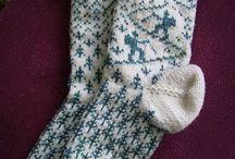 Crochet/knit socks.