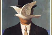Magritte / #Magritte #art #painting