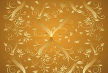 Tła złote