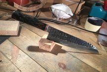 paasipuukko / Handmade knives by me.