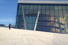 Oslo Opera House / Designed by Snohetta. Snapped on a visit to Oslo in November 2013