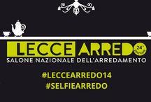 L'hashtag ufficiale #Leccearredo14 - #Selfiearredo / Molteplici sfumature di stili e di idee: Leccearredo, Salone Nazionale dell'Arredamento, giunto alla sua ventiquattresima edizione, quest'anno vuole stupire con una veste assolutamente innovativa e social. Condividi con noi utilizzando l'hashtag ufficiale #Leccearredo14 le tue impressioni, i commenti e gli scatti direttamente dal Salone e partecipa a #SelfieArredo. Che cos'è? Ve lo sveleremo presto!
