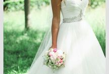 Wedding dresses / Dresses bride flower girl bridesmaids