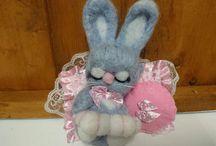bunny/rabbit Christmas present / bunny/rabbit Christmas present for mom mum grandma sister aunt