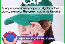 False Cognate / Practice your english with our tips