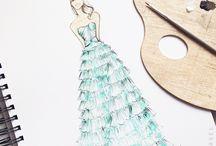 Illustrations / by Mena Bajwa