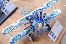 Beer can plane