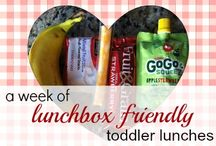 Toddler lunch ideas / by Lindsay Williamson