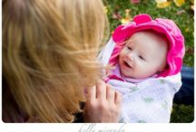 Creative Mother and baby portrait poses