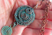 Rustic style jewelry