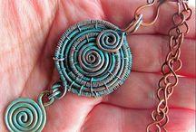 Rustic style jewelry