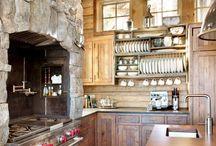 кухня в брусе