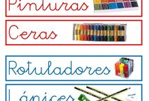 carteles de aula