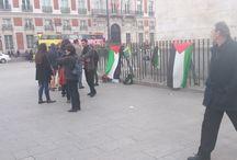 Dia de la Tierra Palestina, Madrid / 30 Marzo, Puerta del Sol, Madrid, Conmemoración del dia de la tierra Palestina
