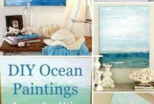 canvas ocean