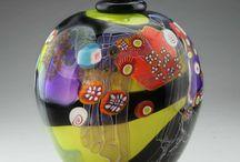 Стекло, вазы / Красивые вещи для радости глаз