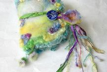 felted fairy book