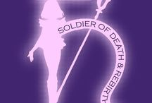 Sailor Saturn - Hotaru Tomoe / Sailor Saturn (Soldier of Death and Rebirth) - Love, Destruction, Darkness, Death and Re-birth.
