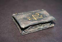 Tutos : Grimoires & Accessoires de sorcellerie / Tutoriels pour Miniatures au 1/12ème - Maisons de poupées