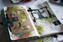 PAPER / Journals, Artist Books, Collage, Paper Craft - But NO SCRAPBOOKING!!! uughghhh