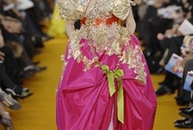 Christian Lacroix  / ORIGINAL, BOLD , EXTRAVAGANT, CREATIVE.  HE HAS BEEN MY INSPIRATION DURING MY FASHION CAREER.