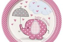 Pink Elephant Baby Shower Ideas / Pink Elephant Baby Shower Ideas for the cutest pink elephant theme baby shower. We have added some of our own favorite Pink Elephant party supplies, and added some other ideas from Pinterest members on how to throw the cutest Pink Elephant Baby Shower ever!