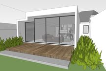 South Caulfield - renovation / This renovation of a semi-detached 1920s home involves extending out into the existing back yard to create a new living area, dining and kitchen zone. It also involves reconfiguring the existing internal spaces.