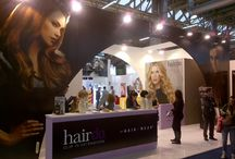 Trade Secrets | HairUWear / HairUWear travels across the country and around the globe to bring our message of beautiful hair to the world. Join an educational session in our HairUWear On The Road series. Visit our booth at a trade show. Watch us on QVC TV in the US and UK.