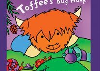 "Toffee the Highland Cow / My first children's book character ""Toffee the Highland Cow""...created back in 2002."