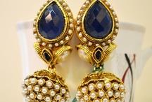 indian jewelry / by Nandinii Vaishu