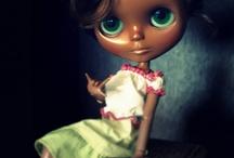 Brown Blythe / Custom Black Beauties!