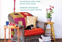 Crafting A Colorful Home / Photos from Kristin Nicholas' book Crafting a Colorful Home. Home, color, family, crafting, crochet, knit, textiles, inspiration / by Kristin Nicholas Designs