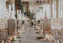 Flowers and candles