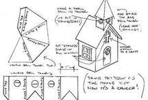 papierowe domki