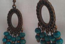 Fülbevalóim - my handmade earrings / Rendelhető és megvásárolható saját készítésű fülbevalók