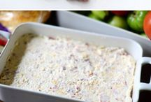 snacks  dips / by Amy Barrett Perieda