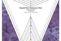 Quilting: LeMoyne Star