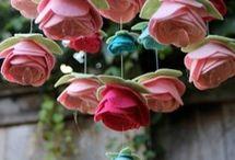 kumaş çiçek