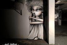 Art: graffiti/street art / by Abbey Trescott