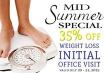 Specials / Millennium Medical & Weight Loss Center Specials   www.MillMedWeightLoss.com   706-937-2099