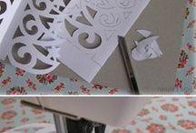 stříhání z papíru na vánoce
